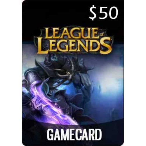 $50 League Of Legends Game Card (Email Delivery)