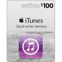 $100 USA ITunes Gift Card (Email Delivery)