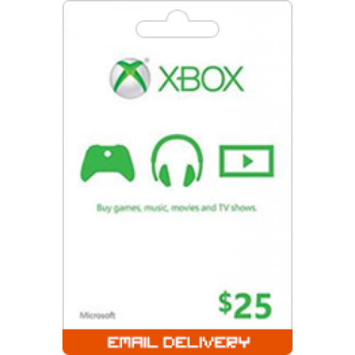 $25 Xbox Gift Card (Email Delivery)