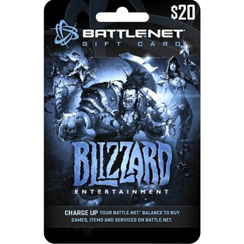 $20 Blizzard Entertainment Battle.net Gift Card (Email Delivery)