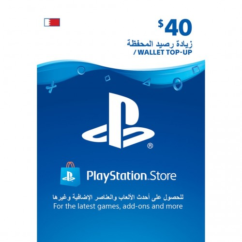 Bahrain PSN Wallet Top-up 40 USD