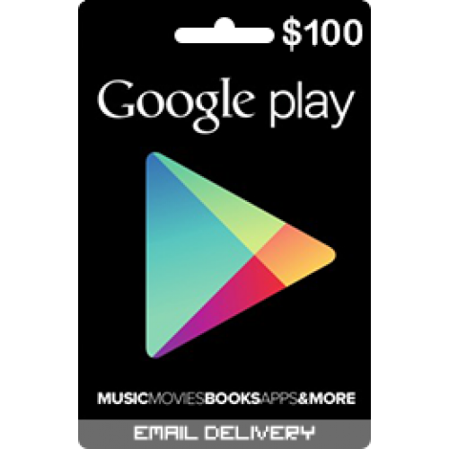 $100 Google Play Store Card