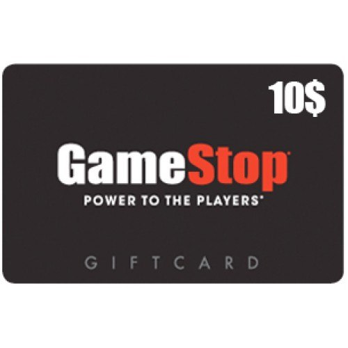 $10 Game Stop card