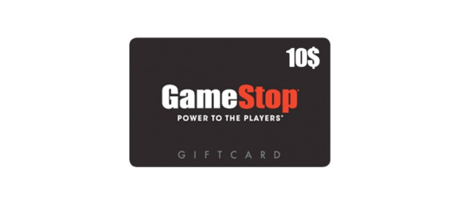 Game Stop Card