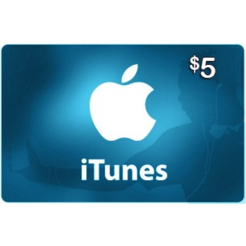 $5 iTunes Card - US store