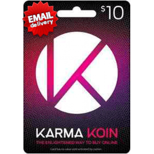 $10 Karma Koin Gift Card (Email Delivery)