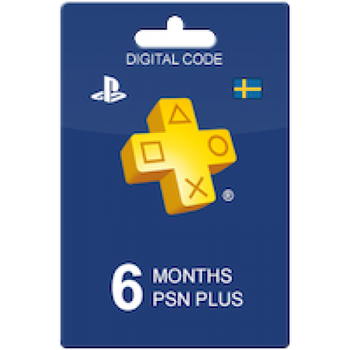 PlayStation Plus 180 days Sweden