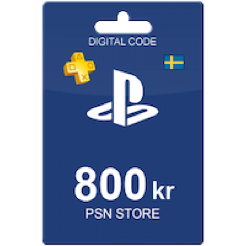 PlayStation Network Card 800 Sweden